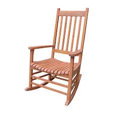 Mesh Patio Chairs by Shop International Concepts Natural Acacia Patio Rocking Chair At