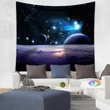 galaxy tapestry space wall tapestry space tapestry wall hanging
