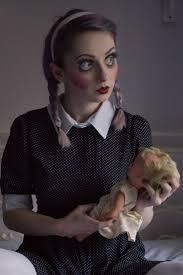 Halloween Doll Makeup Ideas by The 25 Best Halloween Doll Ideas On Pinterest Creepy Dolls