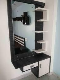 bedroom furniture floating shelf makeup vanity wall mounted