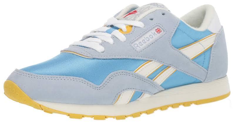 Reebok Classic Nylon Blue Running Shoes