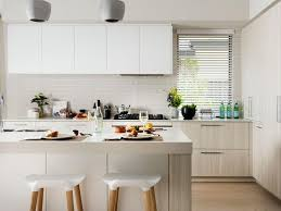 Kitchen Cabinets New Jersey White Wood Midcentury Barstools Gray Pendant Lights Light Cabinets