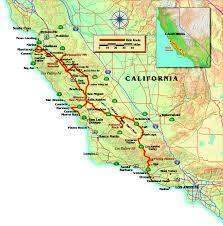 California Maps Salinas California Map California Map