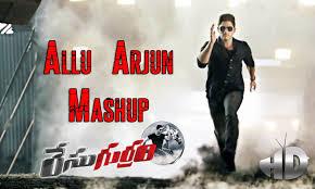 stylish star allu arjun stylish songs mashup race gurram songs