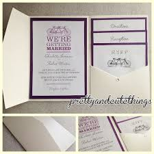 folded invitation diy pocket wedding invitations u2013 gangcraft net