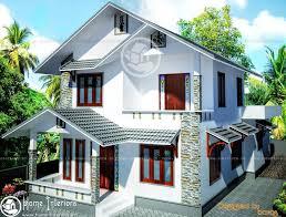 Double Floor Beautiful Kerala Home Design  Plan - Home designes