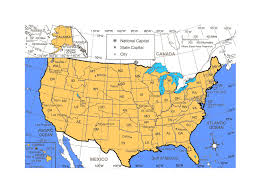 States Of United States Map by Detailed Political And Administrative Map Of The United States