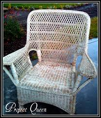 Painting Wicker Patio Furniture - painting wicker furniture