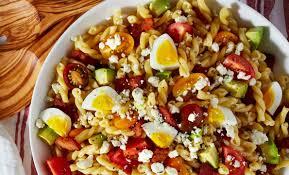 Pasta Salad Ingredients Best Cobb Pasta Salad Recipe How To Make Cobb Pasta Salad