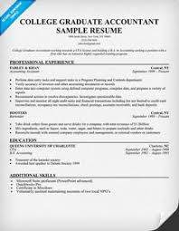 Accounting Resume Examples by Resume Sample Accounting Student Http Resumecompanion Com