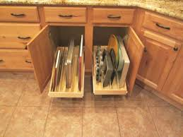 Kitchen Cabinets With Pull Out Shelves by Kitchen Cabinets Organizers Home Design Ideas And Pictures