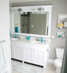 Mirror Ideas For Bathroom by Brushed Nickel Bathroom Mirror 24 Enchanting Ideas With Deco