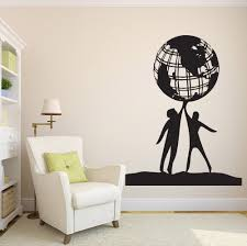 popular friendship wall decals buy cheap friendship wall decals free shiping diy people world friendship earth globe planet peace vinyl wall sticker home decor wall