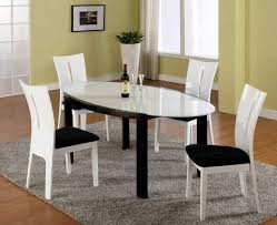 Contemporary Dining Room Table by Download Black And White Dining Room Set Gen4congress Com