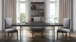 Lucite Dining Room Table Berlin Pine And Lucite Bookcase From Tov Coleman Furniture