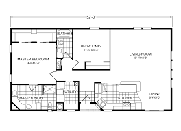 1 Bedroom Modular Homes Floor Plans by Key Biscayne Tl28522a Manufactured Home Floor Plan Or Modular