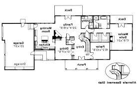 10 Car Garage Plans Colonial House Plans Clairmont 10 041 Associated Designs
