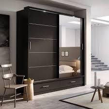 Sliding Door Wardrobe Designs For Bedroom Indian Brand New Modern Bedroom Mirror Sliding Door Wardrobe Arti 1 In