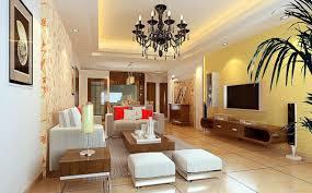 yellow and brown living room u2013 modern house