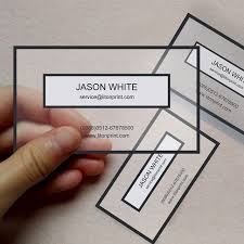 Business Card Printing San Diego Best 25 Plastic Business Cards Ideas On Pinterest Transparent