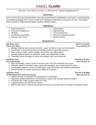 Resume Summary Examples Customer Service by Examples Of Entry Level Resumes Entry Level Resume Examples Entry