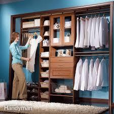 Custom Bookshelves Cost by Build A Low Cost Custom Closet Family Handyman