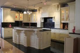 single kitchen cabinet grey tile pattern ceramic backsplash nickel
