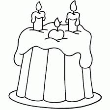 birthday cake coloring pages with five candles coloringstar