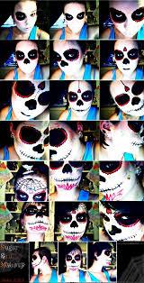 The 15 Best Sugar Skull Makeup Looks For Halloween Halloween by 121 Best Half Face Sugar Skull Makeup Images On Pinterest