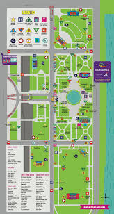 Public Transit Chicago Map by Lollapalooza 2017 How To Get To And Around Grant Park Curbed