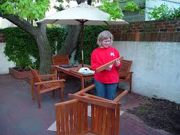 bringing teak outdoor furniture back from the brink old town home