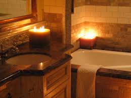 romantic bathroom candles bath time pinterest romantic