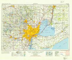 Detroit Michigan Map by See The Rise Of The Motor City Detroit U0027s History In Maps Wired