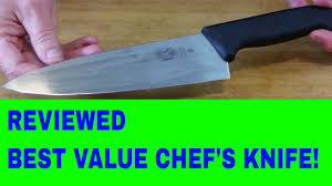 chef u0027s knife review 8 inch victorinox fibrox youtube
