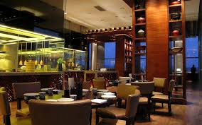 Chinese Restaurant Kitchen Design by Home Design Bilkey Llinas Design Hyatt Regency Dongguan U2013 Da Pai