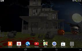 halloween pixel backgrounds 3d halloween live wallpaper fr android apps on google play