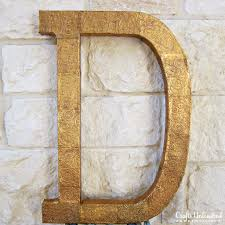 Metal Decorative Letters Home Decor Letter Decor Tutorial Make A Diy Embossed Monogram
