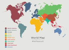 World Map Asia by Maps U2013 No Place Left