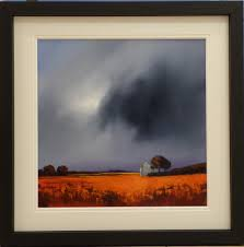 Two new original paintings have just arrived from Lancashire artist Barry Hilton. Barry Hilton has continued to wow us with his atmospheric landscape and ... - barry_hilton_original_sunday_storm_lg1