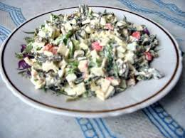 салат из марской капусты