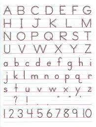 kindergarten lined writing paper zaner bloser handwriting chart printable zaner bloser zaner bloser manuscript print for handwriting practice laminate to reuse