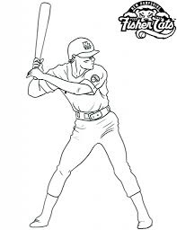 baseball player coloring pages with regard to invigorate to color