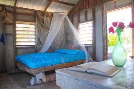 cozy cabin on priv island belize central america huts for rent