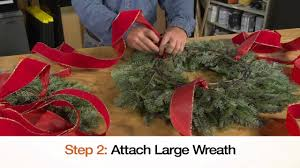 The Home Depot Christmas Decorations Holiday Wreath Chandelier The Home Depot Youtube