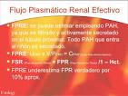 <b>Flujo Plasmático Renal</b>