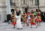 Presentación de la Semana Santa de Huancavelica 2014, en P ...