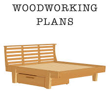 Woodworking Plans For A Platform Bed With Drawers by Askwoodman Platform Bed With Drawer Verysupercool Tools