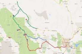 Greyhound Routes Map by Las Vegas To Death Valley All The Ways To Get There