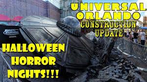 halloween horror nights 2016 passholder universal orlando resort halloween horror nights construction