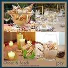DIY Beach Wedding Theme Centerpiece Ideas - Storkie.